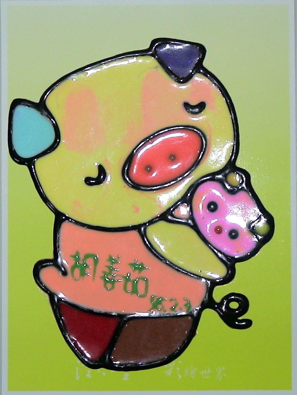 茹茹米的繪畫